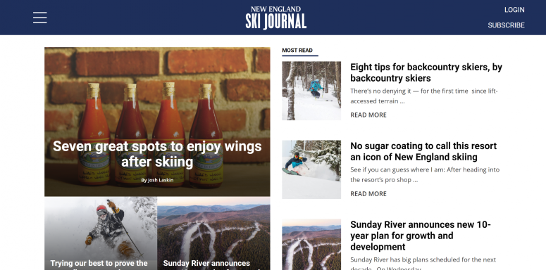 The New England Ski Journal