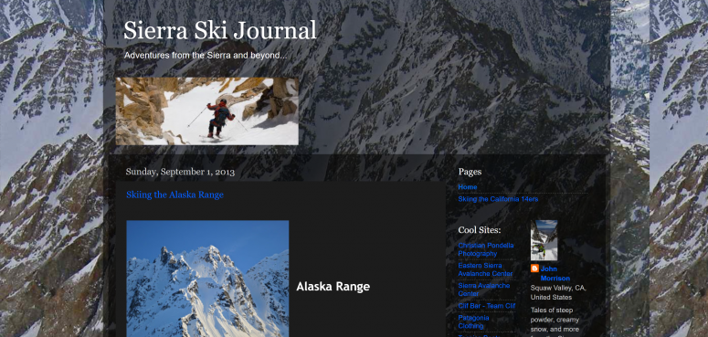 The Sierra Ski Journal