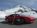 Lotus Esprit at Mt. Hood