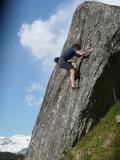 Bouldering in Hintertux