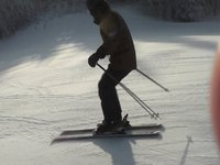 SkierInVermont MA - Slow Mo..