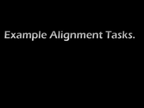 Alignment Tasks