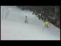 Hirscher und  Herbst Schladming  slalom 2011 Fail