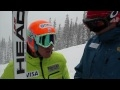 Ted Ligety Early Season Training at Copper Mountain